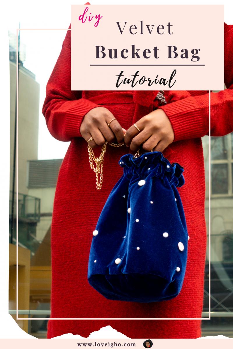 DIY Bucket Bag | Step by Step Tutorial