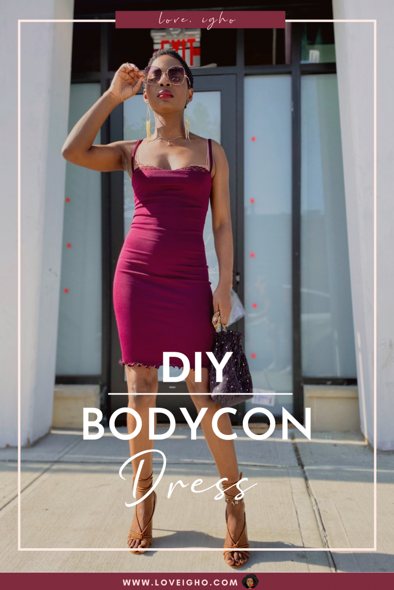 DIY Bodycon Dress