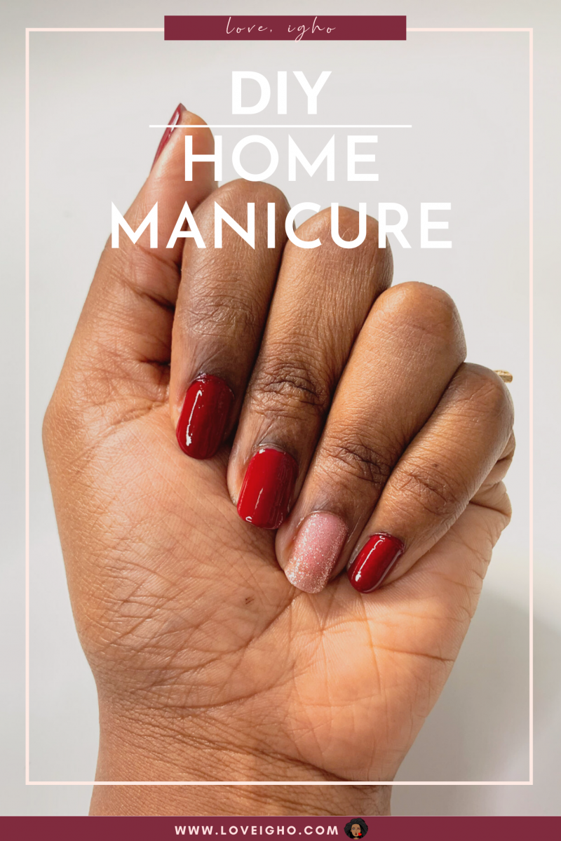 How To Do A Home Manicure
