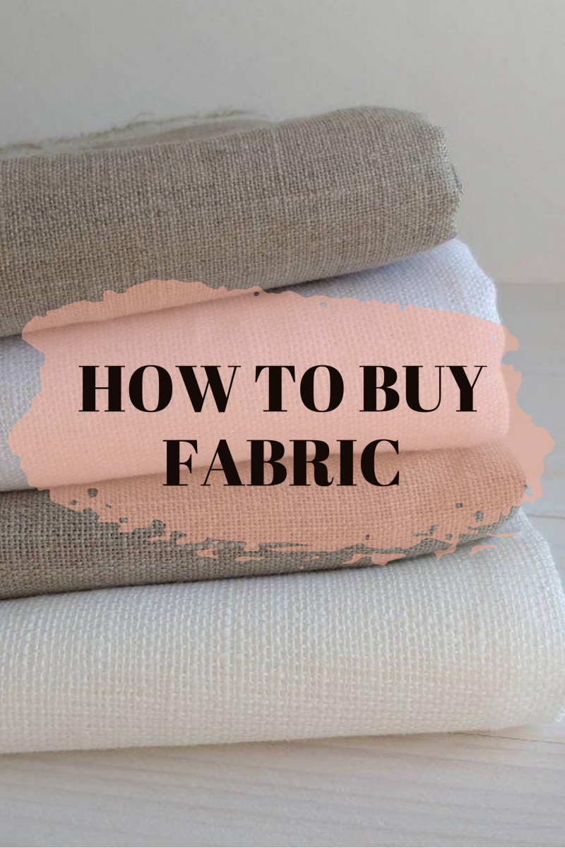 TIPS FOR FABRIC SHOPPING | How to buy Fabric