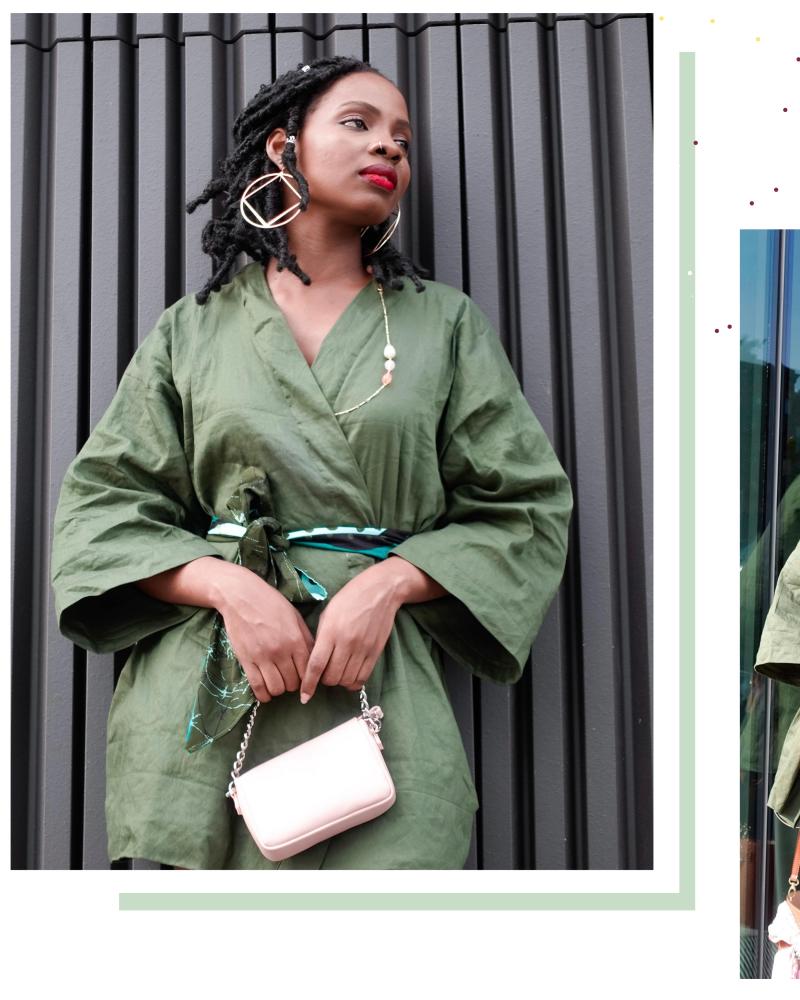 DIY Kimono Dress/Jacket From Scratch | Free Pattern