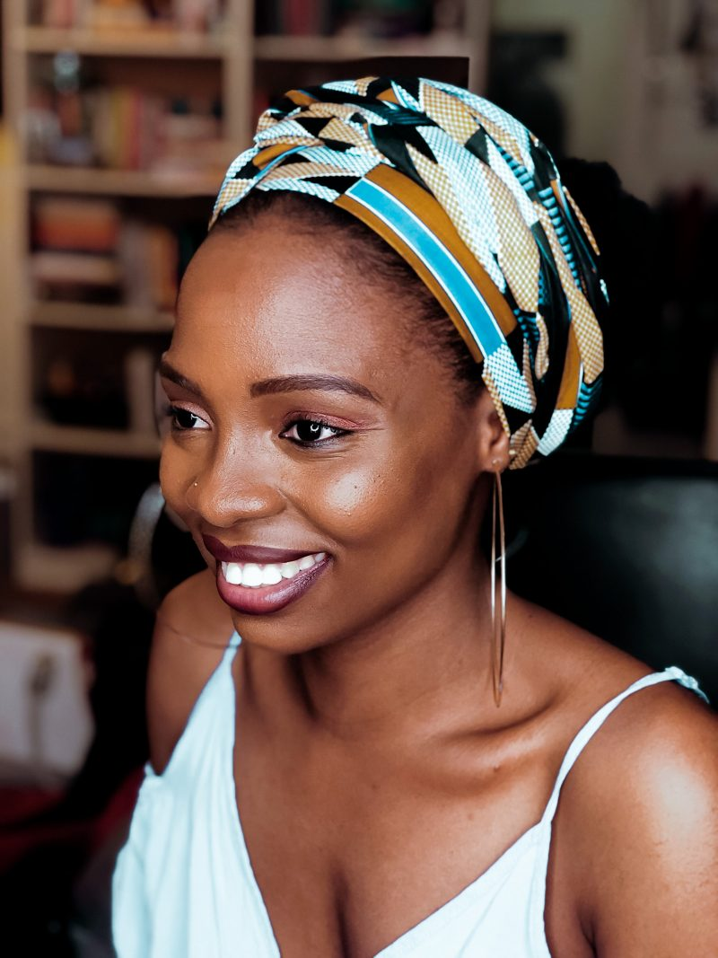 How to MAKE & STYLE a Headwrap : DIY Tutorial